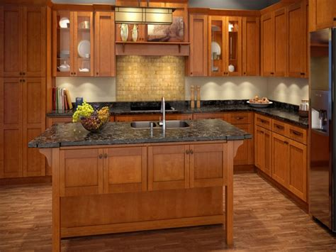 6 kitchen cabinet kitchen cabinet wood colors cinnamon shaker kitchen