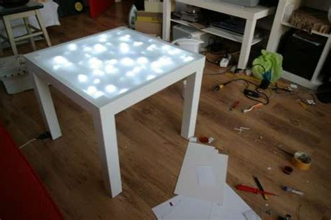 ikea lack inside how to upgrade ikea lack table with built in lights