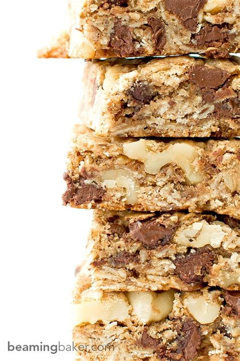 Light Walnut By Minimarket Vegan chocolate chip walnut cookie bars vegan gluten free