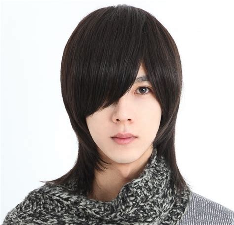 fashion men handsome short hair sexy korean boys male wig handsome korean style man hair fluffy wig hot boys wig