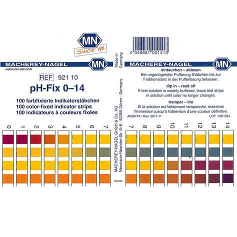 ph test strips ph fix test strips 0 14 pk 100