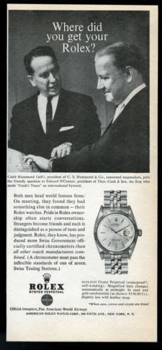 rolex print ads this undated vintage rolex datejust features the