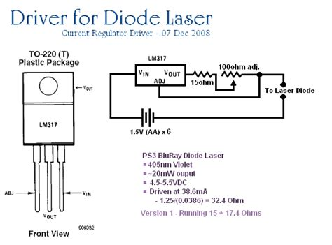current limiting diode digikey gao guangyan s projects page project 405 the quest for a violet laser