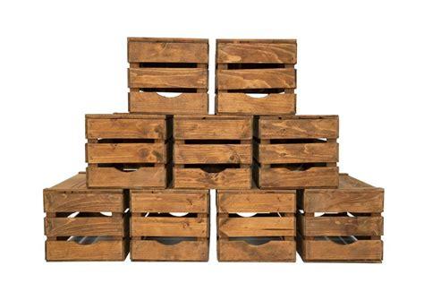 cassetta per legna cassetta legno vintage scuro cassette venturi