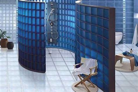 Glass Block Bathroom Designs by Glass Block Wall Design Ideas Adding Unique Accents To Eco