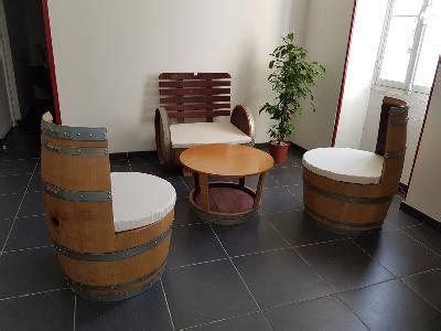Salon De Jardin En Tonneau 3723 by Mobilier En Tonneau Fauteuils Barrique