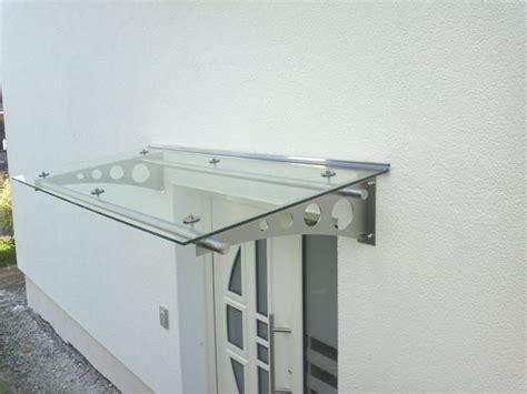 edelstahvordach glasvordach vord 228 cher vordach g 252 ns