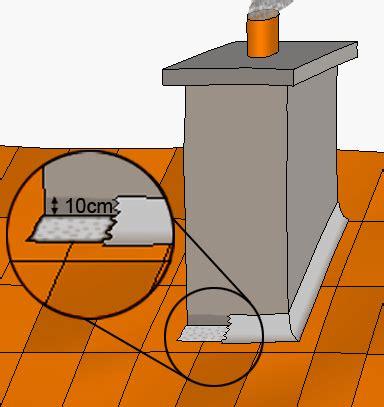 entreprise de couverture zinguerie solin de cheminee