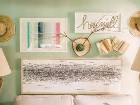 Bedroom Art Ideas diy art ideas hgtv