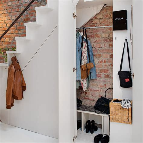 the stairs storage claw back space with clever the stair storage