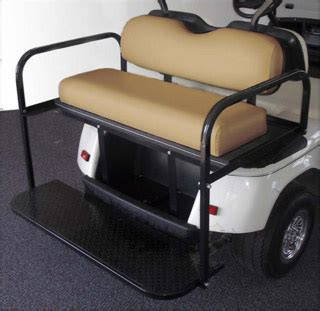 ez go golf cart rear seat installation golf cart rear seat kits