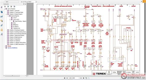heavy truck wiring diagrams heavy truck repair wiring