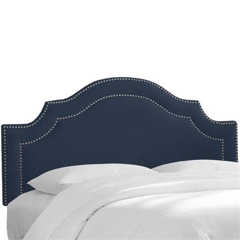 skyline king headboard skyline upholstered california king headboard in navy