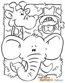 Safari Coloring Pages safari animals coloring pages