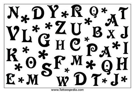 temporary tattoo alphabet temporary tattoo alphabet 3