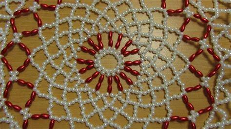 como tejer carpeta con muecas carpeta con perlas objetos en perlas pinterest