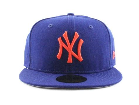 ny mets colors new york yankees 59fifty new era fitted hats royal blue