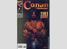 Conan the Barbarian (1970 Marvel) comic books C