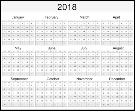 printable calendar 2018 with bank holidays 2018 calendar uk with bank holidays printable