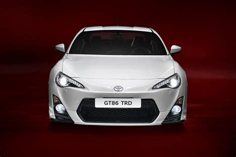 Toyota Racing Parts Revving Toyota Gt86 Gets New Makeover