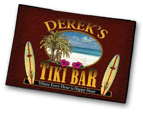 bar rug personalized bar rugs welcome mats