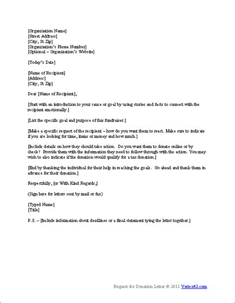 Business Letter Template Asking For Donations free request for donation letter template sle