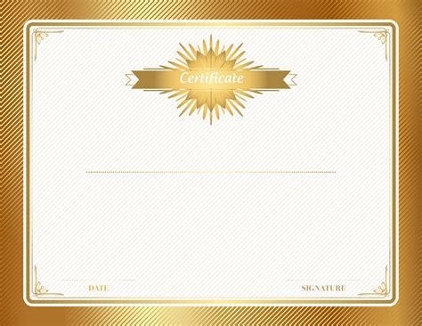 gold certificate template clip art gallery yopriceville high quality images  transparent
