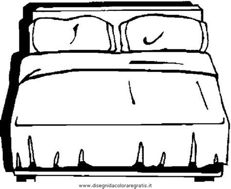 colorare la da letto disegno letto 6 da colorare