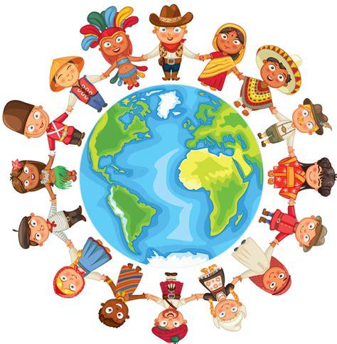 clipart mondo pessoas do mundo pessoas do mundo e o mundo