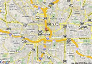 Downtown Atlanta Map by Marriott Atlanta Downtown Atlanta Deals See Hotel