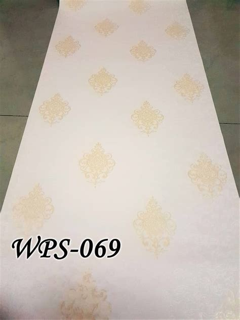 jual wps cream   vector wallpaper dinding