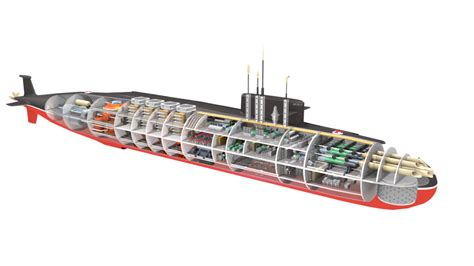 Submarine Sections by Ins Arihant Cutaway Parts By Arkem8 On Deviantart