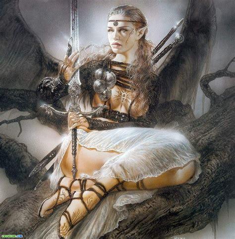 imagenes guerreras mitologicas colecci 243 n de chicas guerreras de luis royo taringa