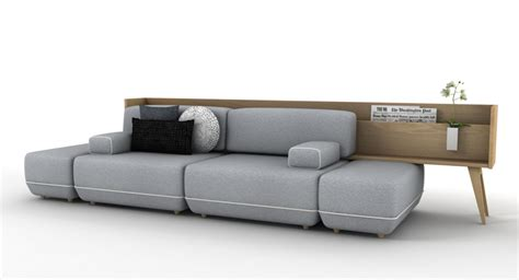 Vitale Designs Reconfigurable Two Be Sofa For Koo