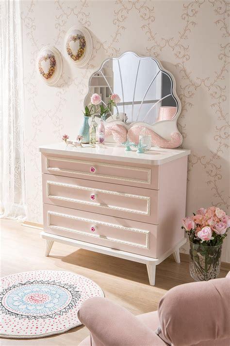 kinderzimmer deko per nachnahme kinderzimmer m 228 dchen rosa spiegel f 252 r kommode ebay