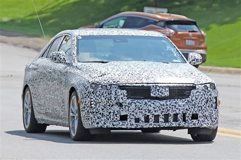 Cadillac Ct4 2020 by 2020 Cadillac Ct4 Small Rwd Sedan Spied Flaunting