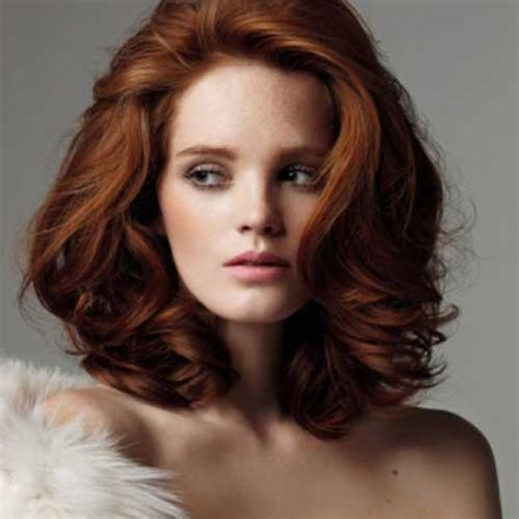 hairstyles for mid length red hair 25 short medium length haircuts short hairstyles 2017