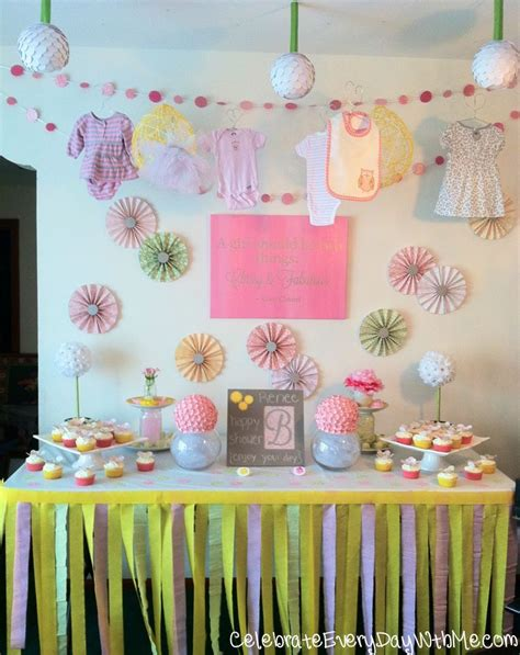 Baby Shower Display by 31 Days To An Awesome A Terrific Table