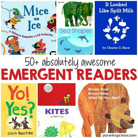 reading pattern books kindergarten awesome emergent readers for kindergarten parenting chaos