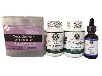 Total Detox Kit by Herbs Of Mexico Health Wellness You