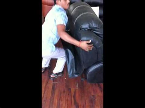 how to remove back of recliner sofa how to remove recliner back youtube