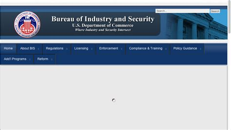 bureau of industry and security bis bureau of industry security 28 images federal