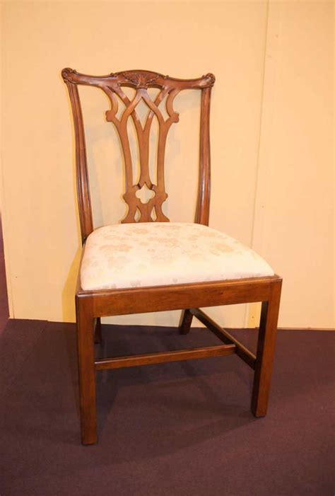 mahogany chippendale dining chairs set 8 mahogany chippendale dining chairs furniture