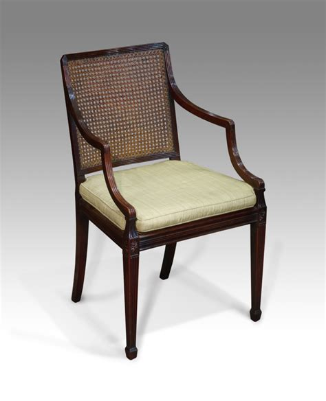 Reclaimed Armchair by Antique Caned Arm Chair Bergere Library Chair Antique