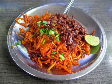 mee sotong  coconut shake padang kota penang food guide