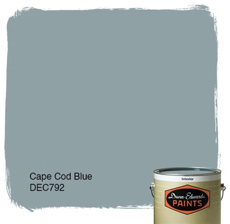 Blue Cape Cod - dunn edwards paints cape code blue dec792