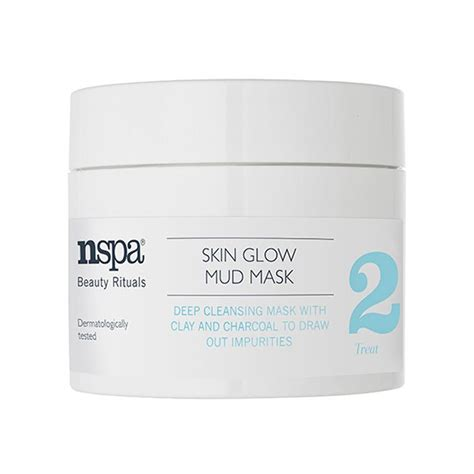 Glow Detox Mask by Skin Glow Mud Mask Nspa