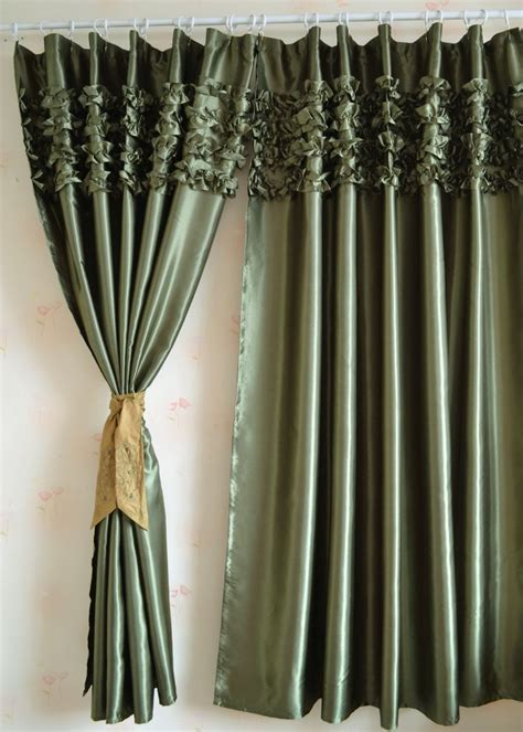 satin curtain panels image gallery satin curtains