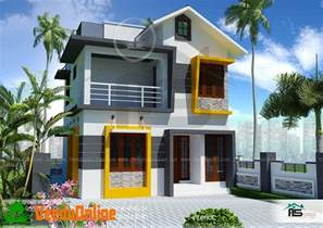 Design My Home by 900 Sq Ft 3 Bhk Double Floor Modern Home Design