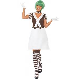 Buy smiffy s ladies candy creator oompa loompa costume fast delivery